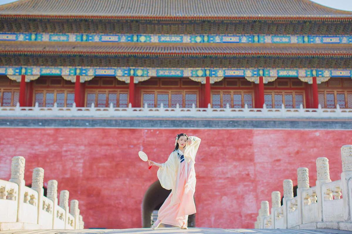 故宫的一次汉服旅行