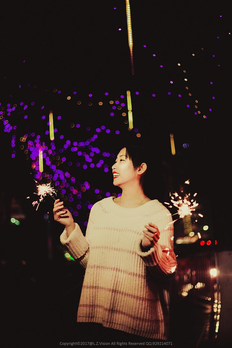 夜景易冷,烟花易分-佳,图片,人事,广州,仙长美女短裙美女图片