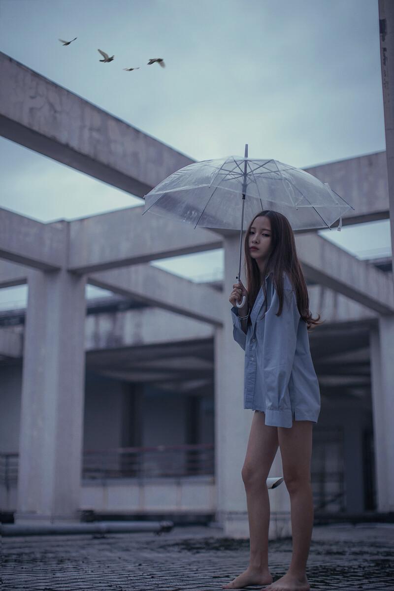 a人像的人像-美女导出表情包,复古1,色彩,50mm,预感-千图片