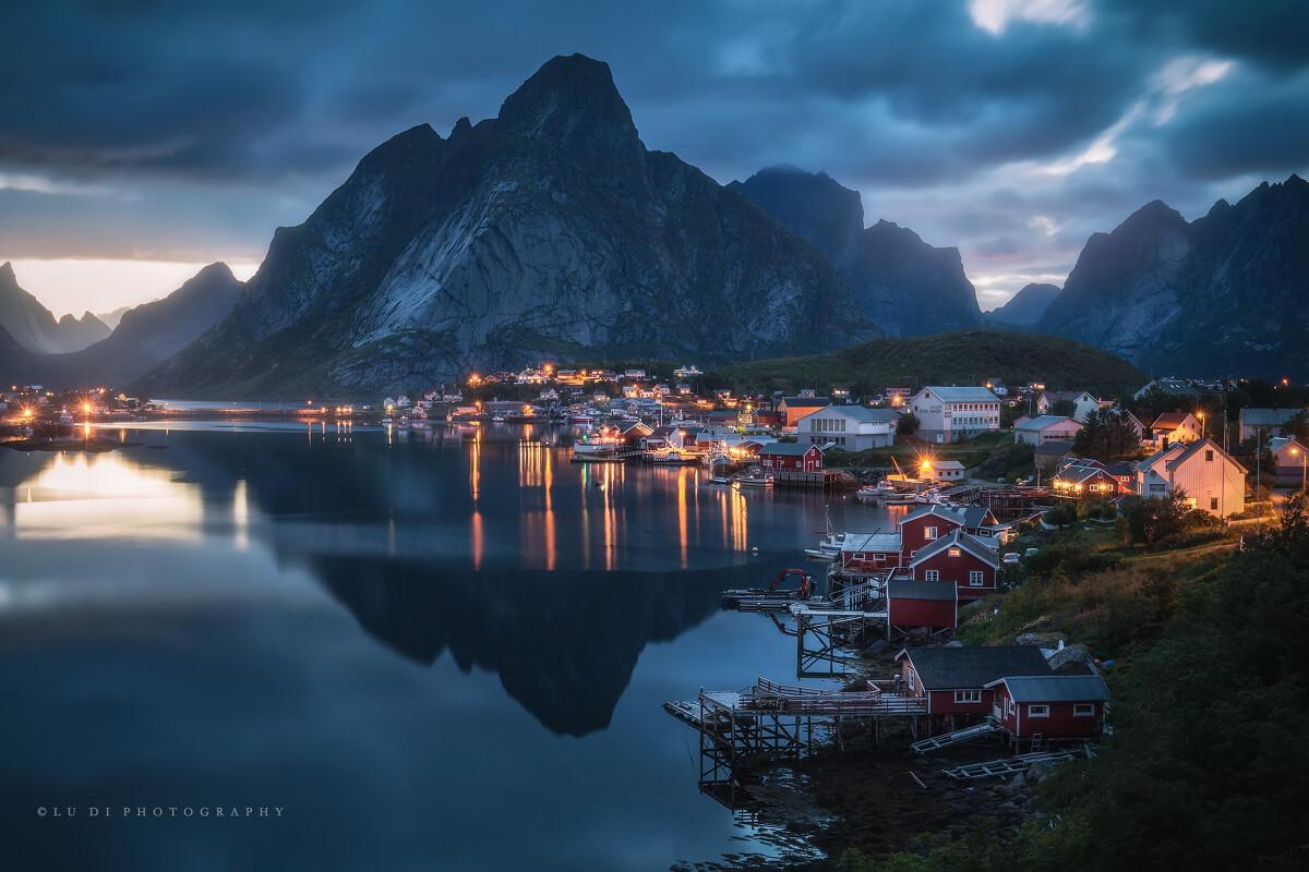 br /> 拍摄于挪威罗弗敦群岛.图片