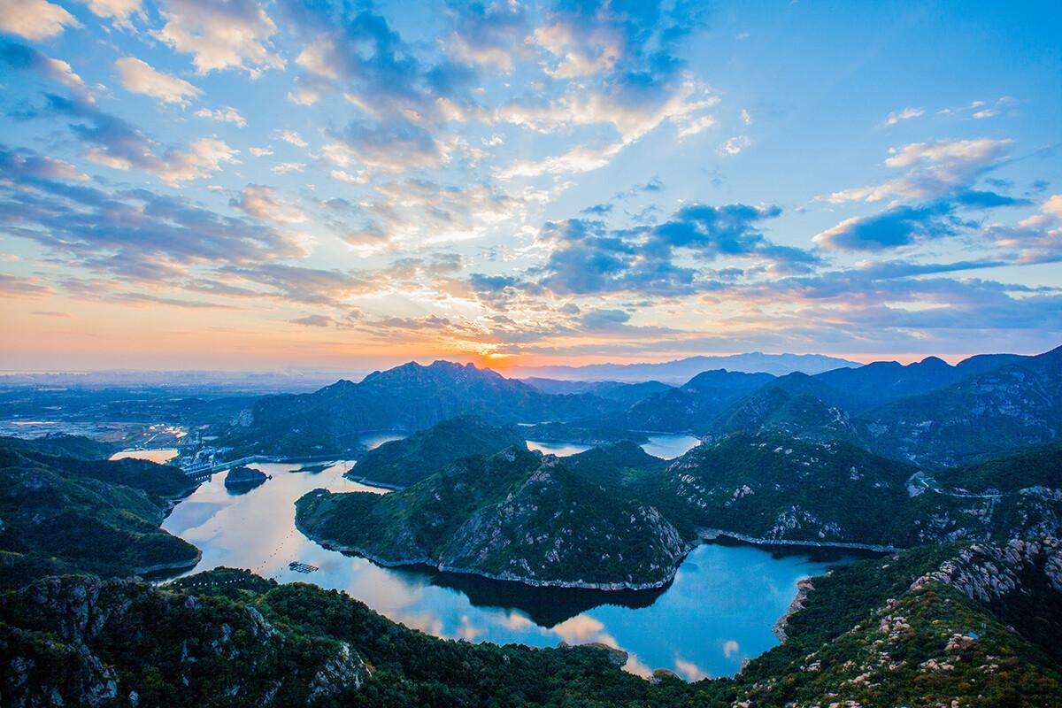 河北省_拍摄于河北省秦皇岛市山海关区燕塞湖