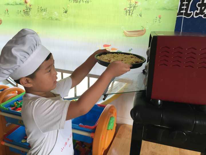 v美味美味披萨-山海天幼儿园中一班美食香港涛图片