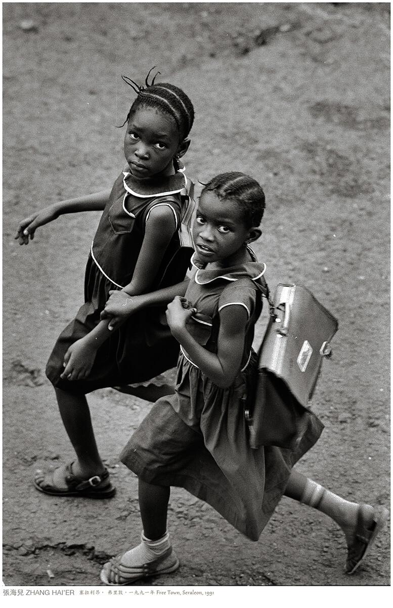塞拉利昂,弗里敦,一九九一年  FREE TOWN, SERALEON, 1991