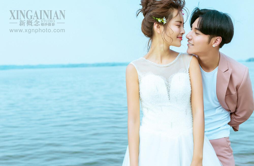 喜欢和你在一起的日子-淮安新概念婚纱摄影