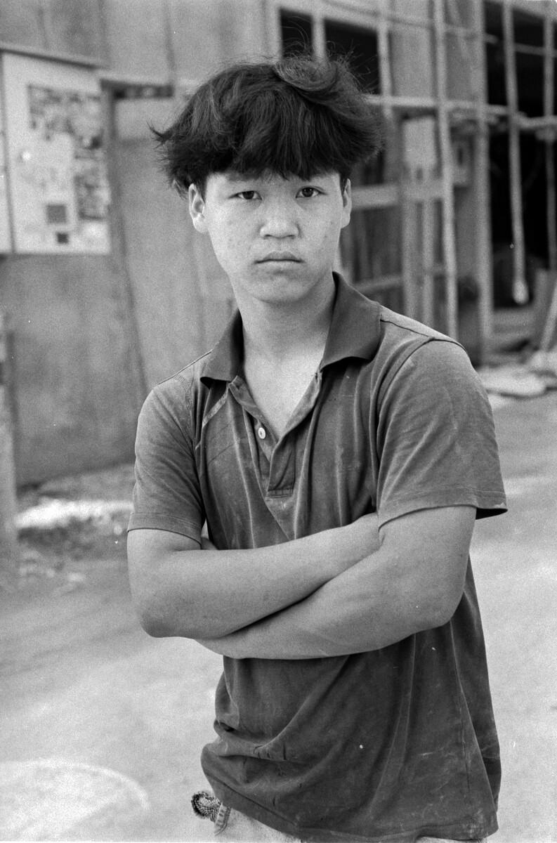 年轻的民工