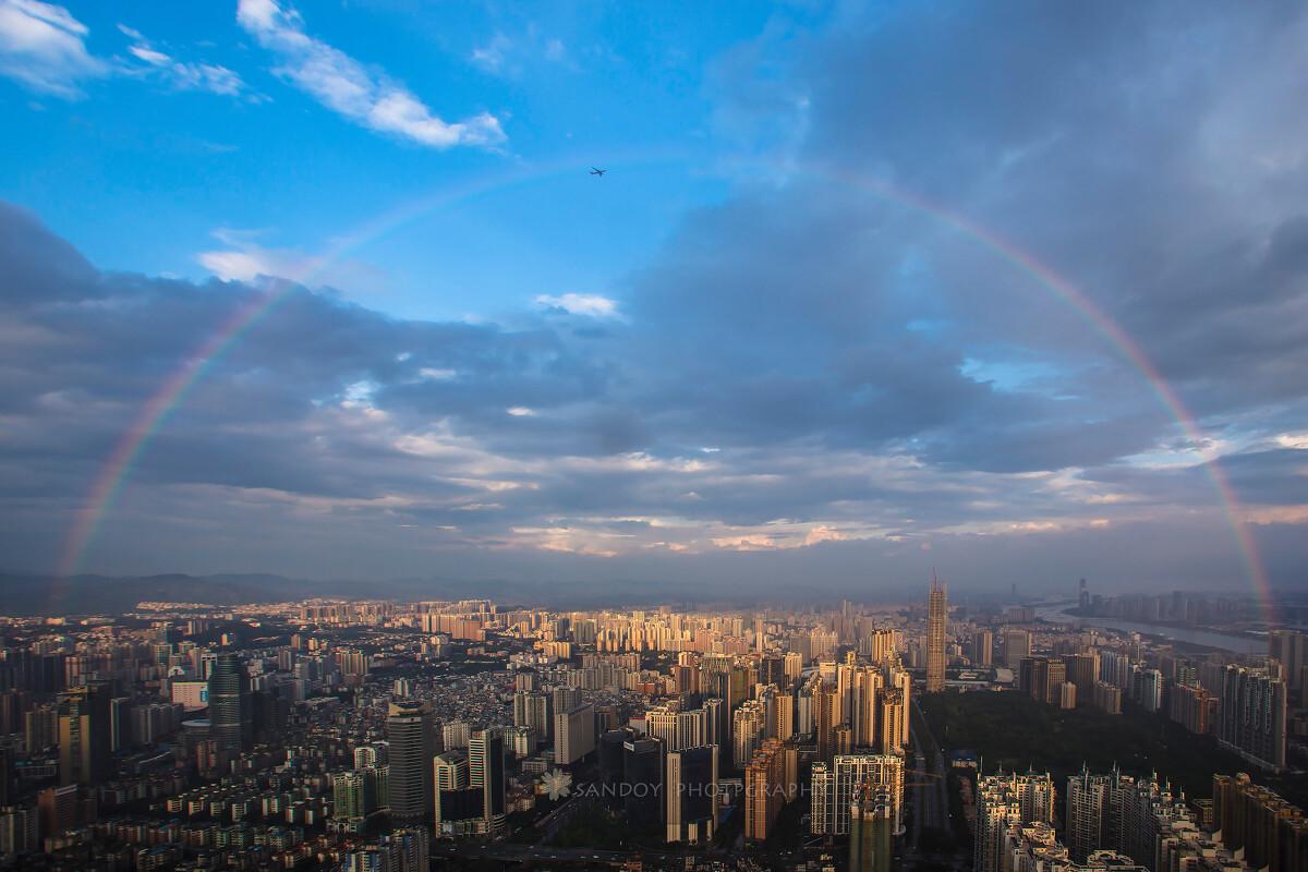 总结彩虹-教案,风光,色彩,佳,广州-sando教师城市备课v教案飞越图片