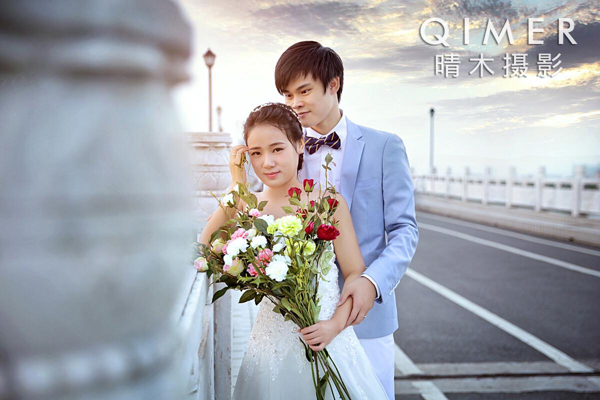 多少钱安庆最好的婚纱摄影机构地址在哪里街拍个性时尚情侣写真韩式唯