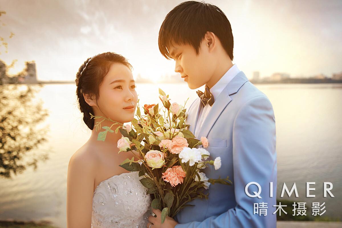 多少钱安庆最好的婚纱摄影机构地址在哪里街拍个性时尚情侣写真韩式