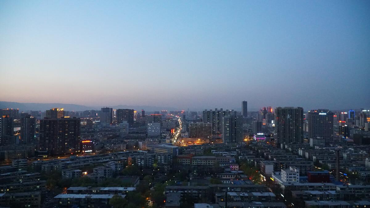 太原夜景图片