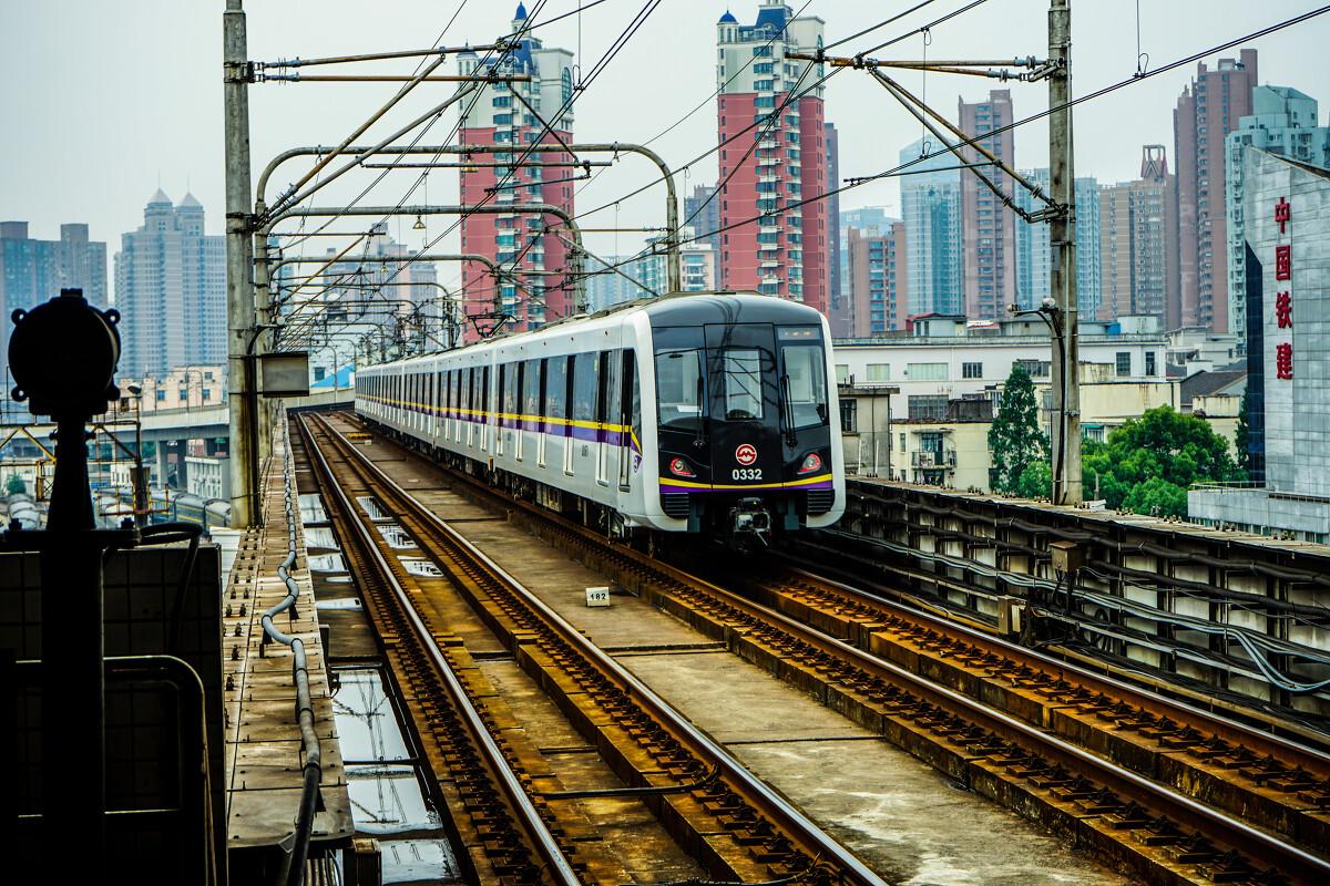 上海地铁三号线 长客阿尔斯通客车