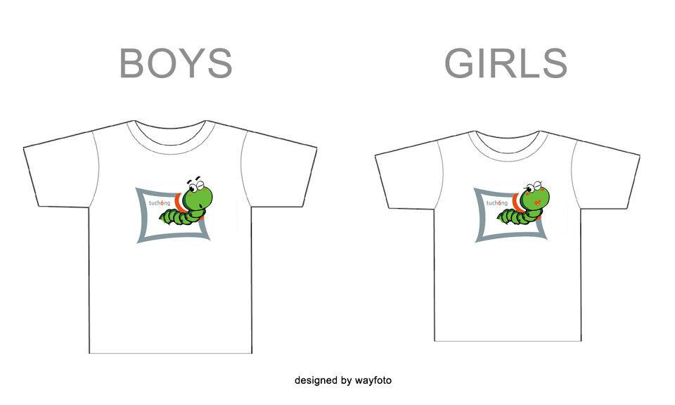 可爱版图虫t恤图片