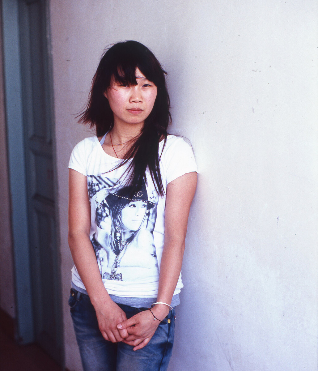 2010年,初中毕业后便去石狮打工的女孩黄玲。