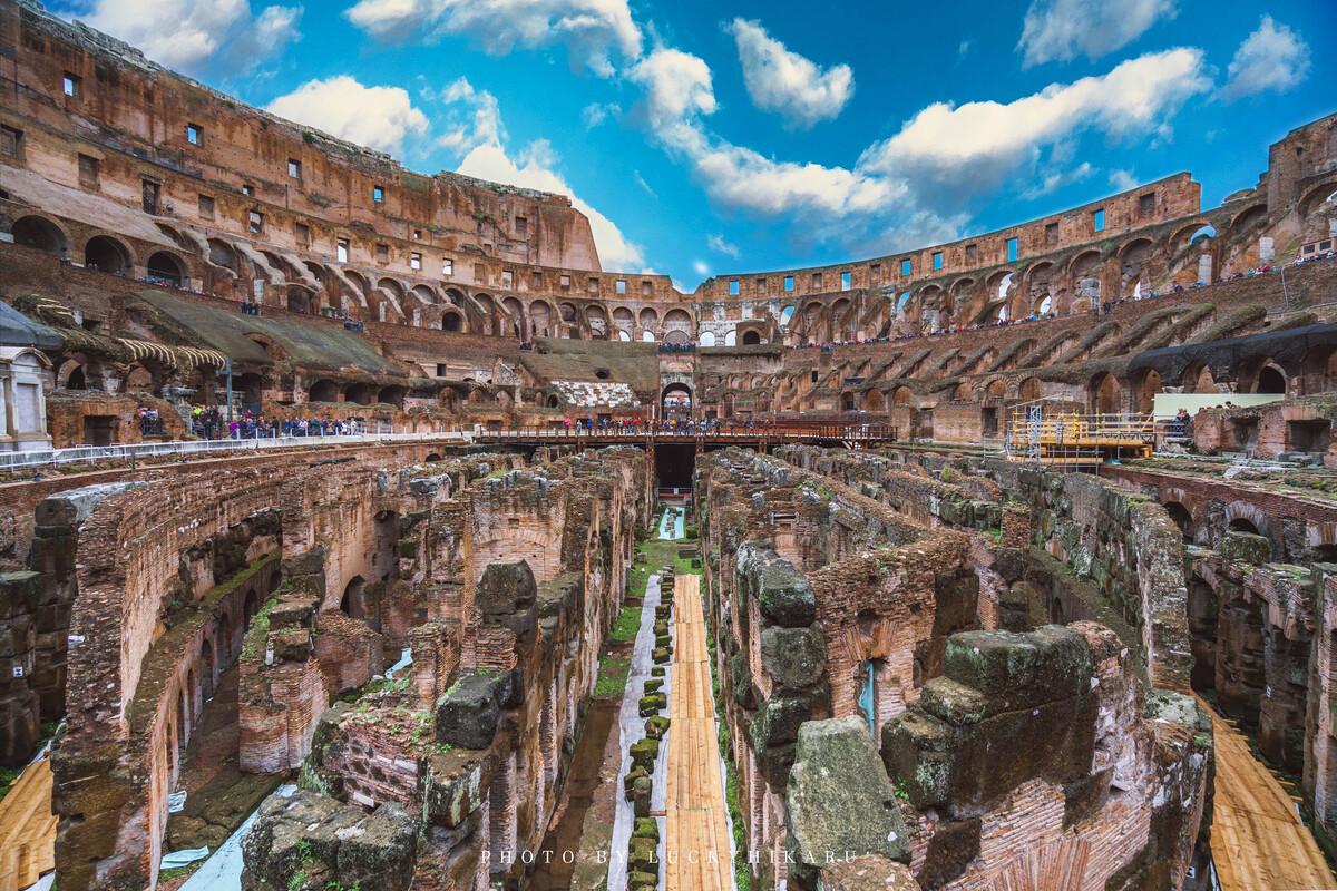 古罗马竞技场 二层