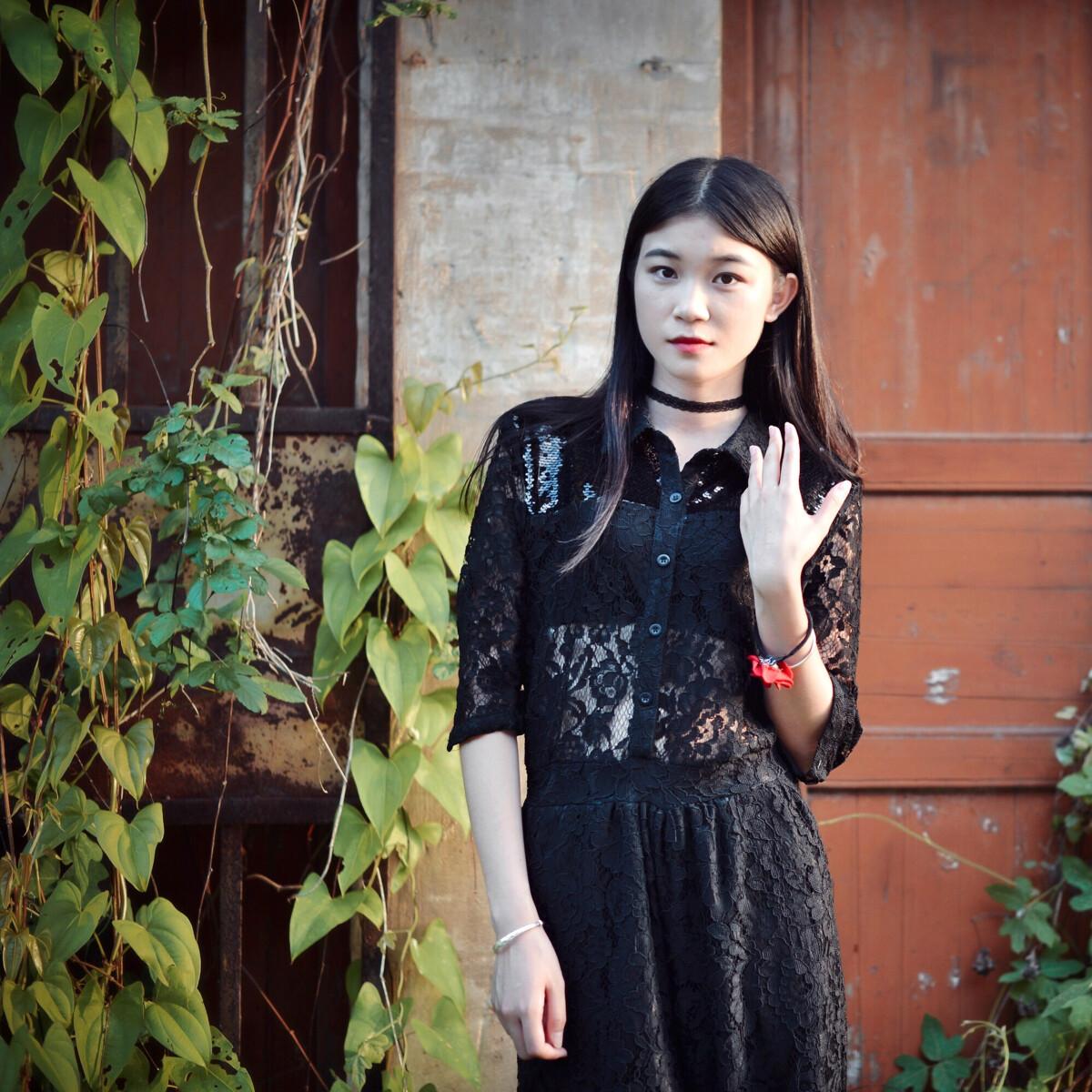 黑蕾丝召唤神龙-美女,美女,尼康-共度时尚L良宵黑白人像矢量图图片