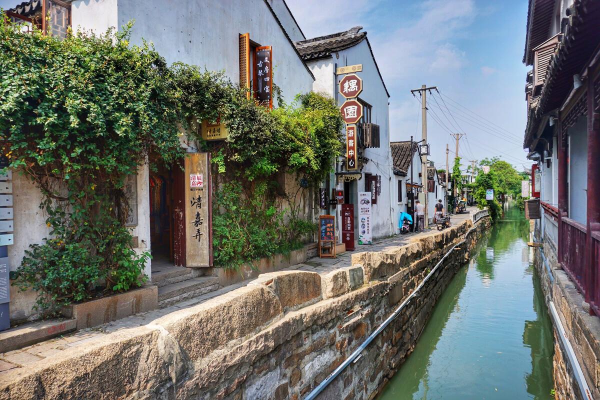 苏州平江路                   图片