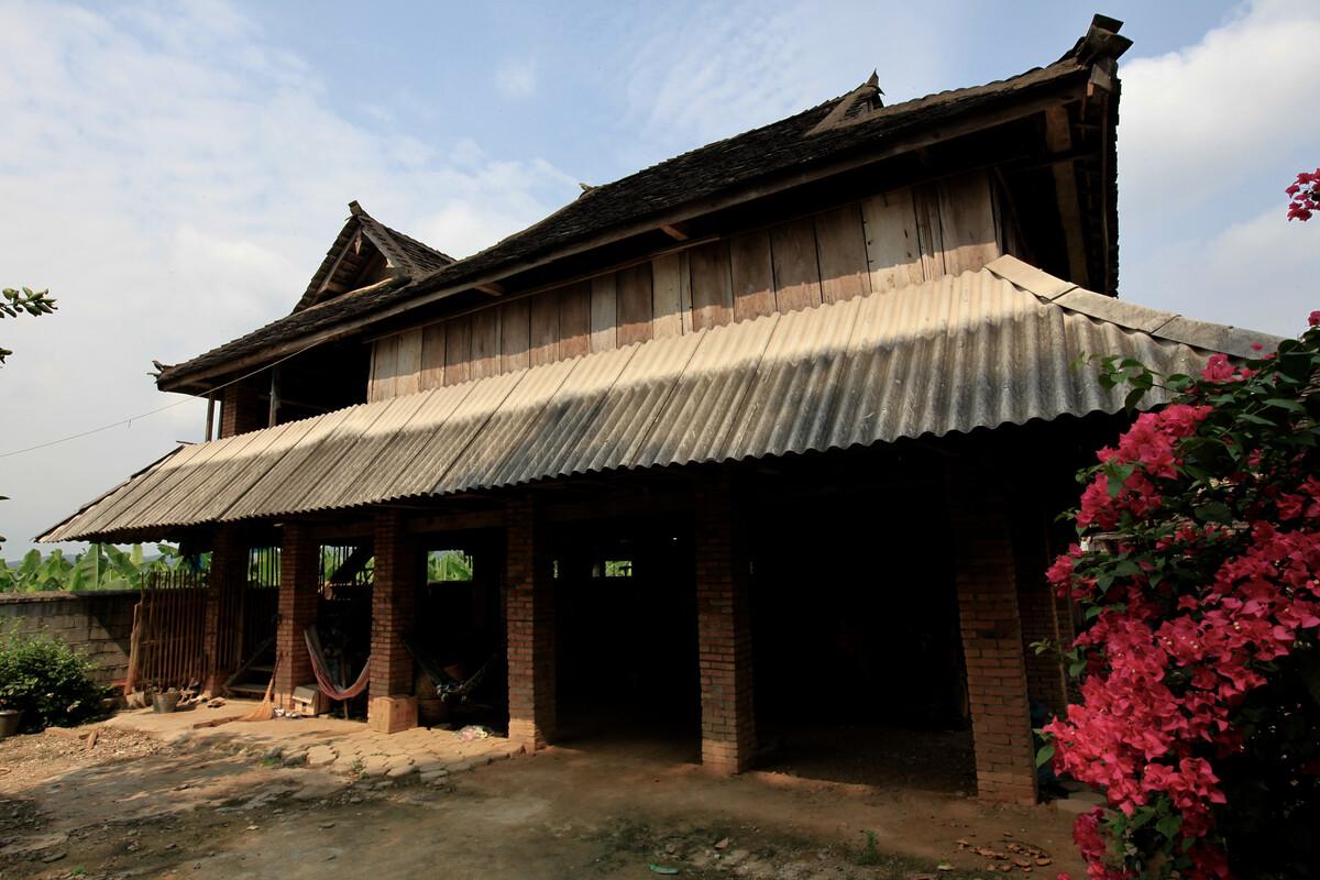 傣族民居(西双版纳)图片