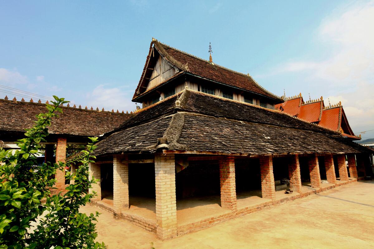 傣族民居图片