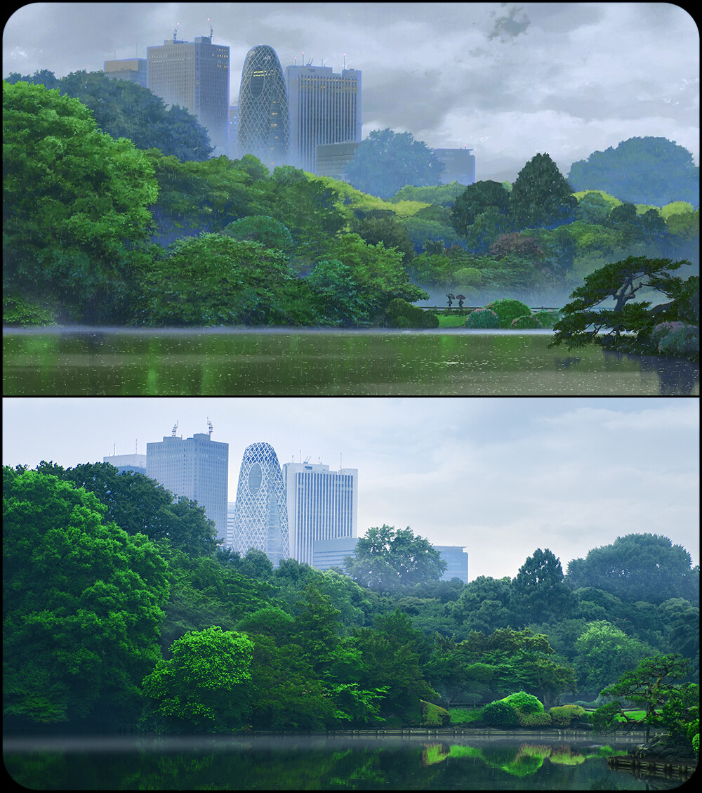 新宿高层建筑群