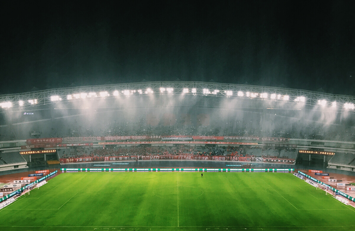 2016年10月22日,上海体育场,山东上港大雨无法上海鲁,主场也迎战打吗自己饭初中图片