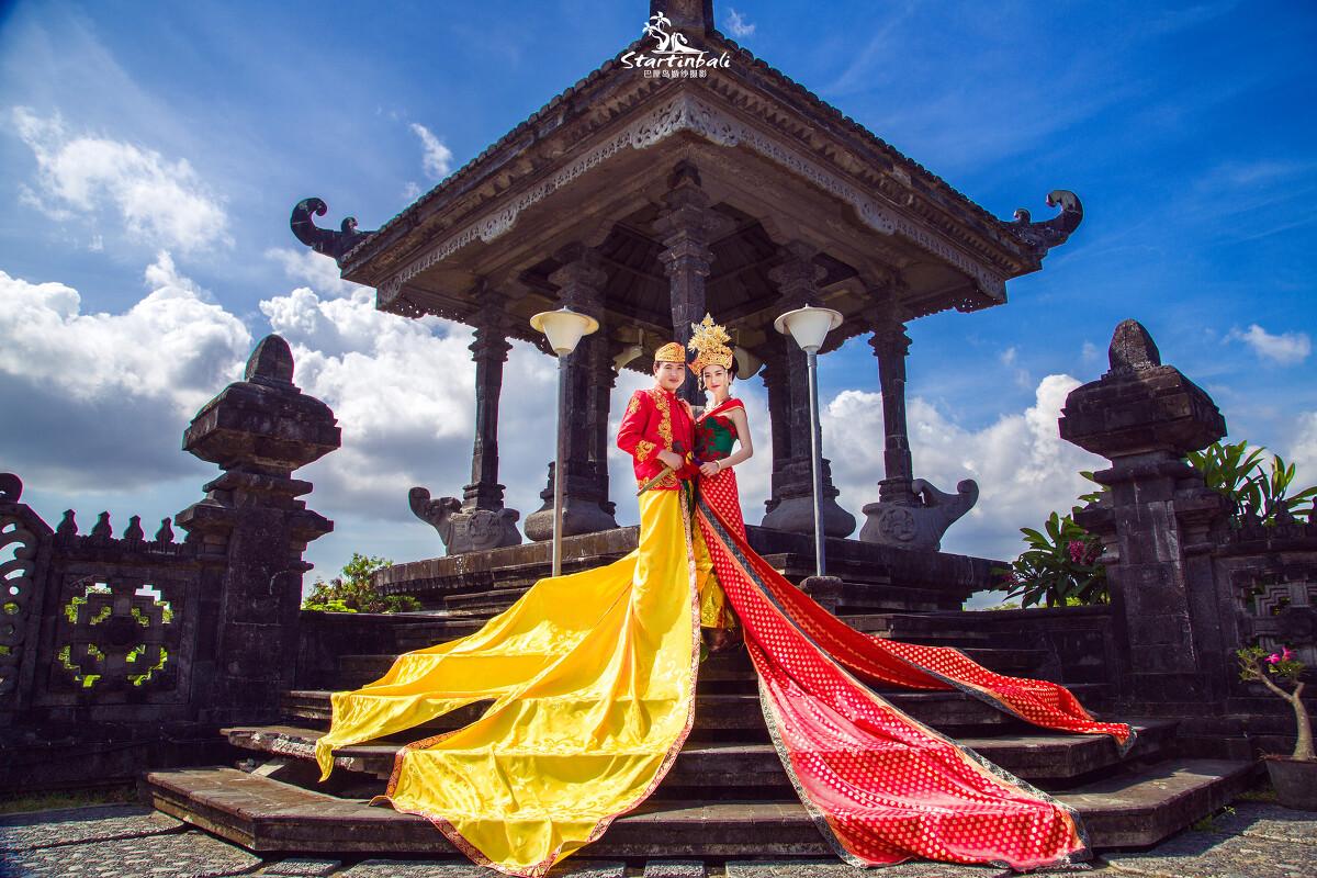 巴厘岛摄影店/影楼/婚礼,婚纱照,写真,跟拍,全家福照片欣赏 startinba