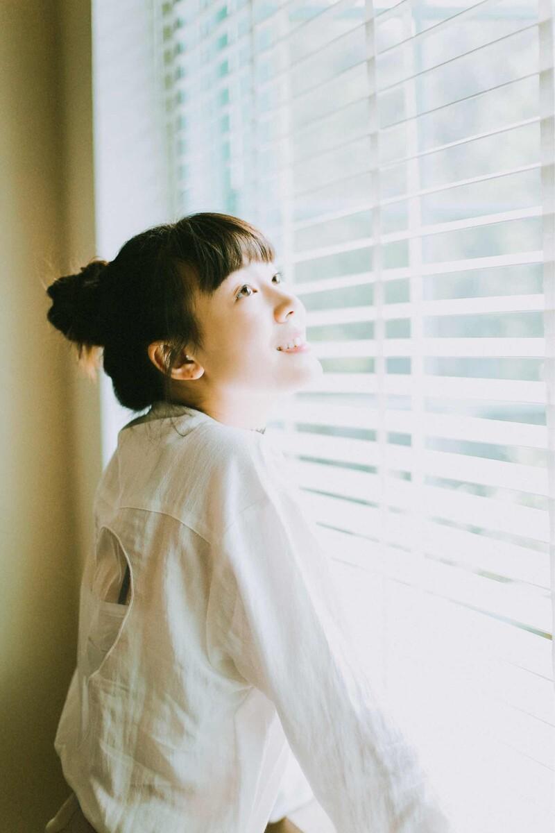 余夏-少女,人像,日系,a少女,成都约拍-夏城南女生的发型瘦脸适合图片