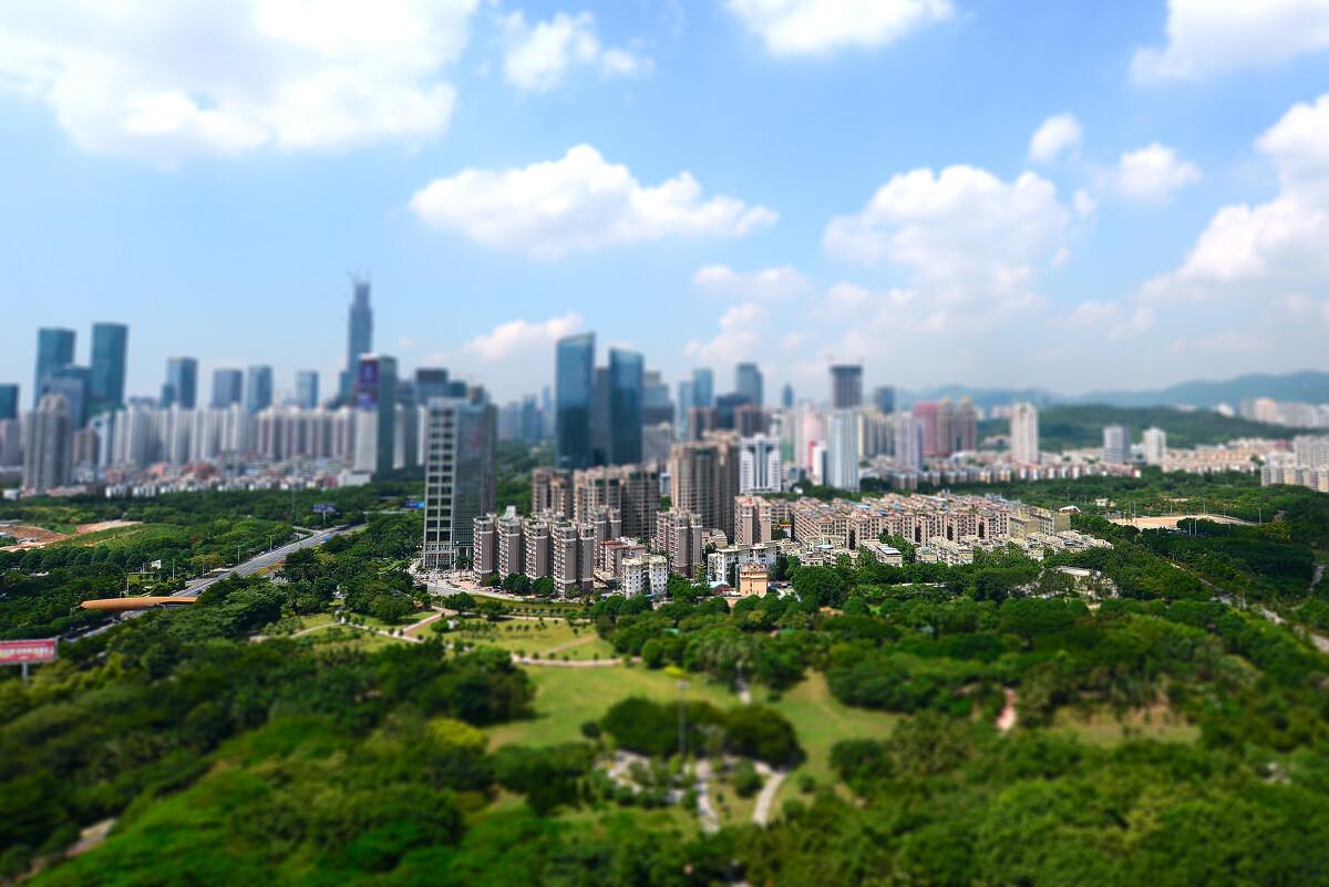 深圳今日��+�_深圳-中心公园