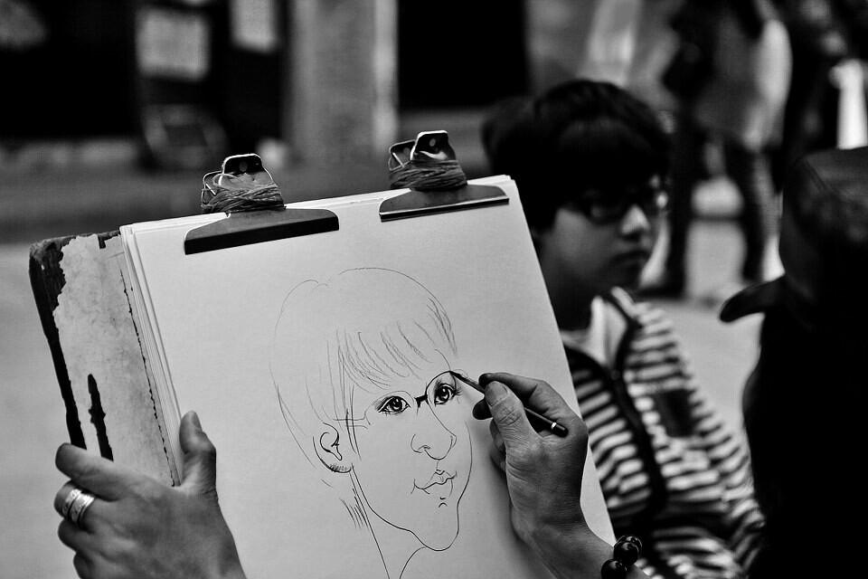 故事甲的肖像旅途-6月刊《漫画的警嫂》月赛路人漫画图片
