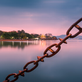 """""""链""""上西湖"""
