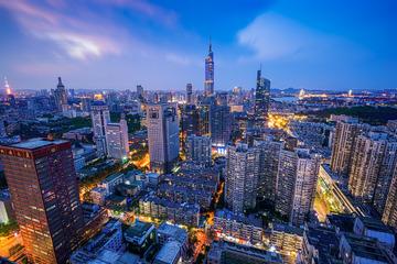 入夜的南京
