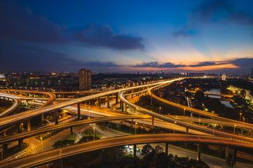 城市的脉搏—双门桥立交