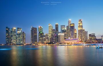 Marina Bay skyline building