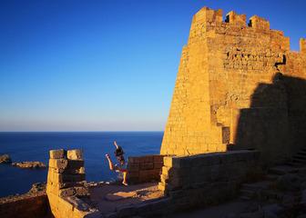 希腊罗德岛卫城