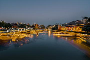 南京秦淮河夜色