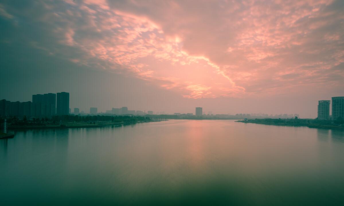 宁波一月 湾头大桥