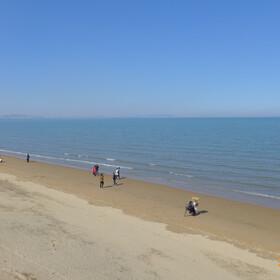 烟台金沙滩海滨公园