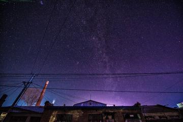 银河与流星