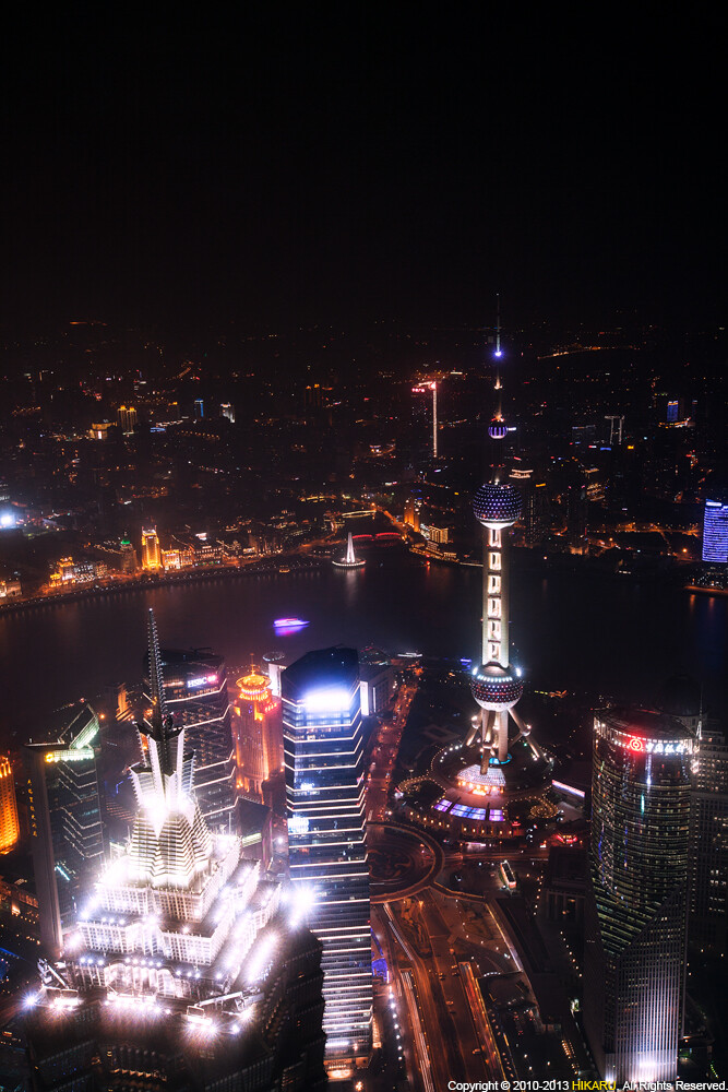 Panoramic view of Lujiazui from SWFC - HIKARU_PAN - 图虫网 ...