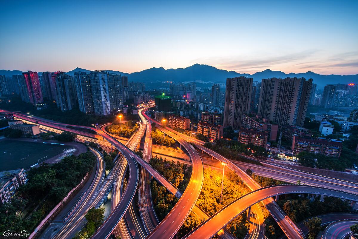 重庆立交桥_CKG,flyover - 鬼迹 - 图虫网 - 优质摄影师交流社区