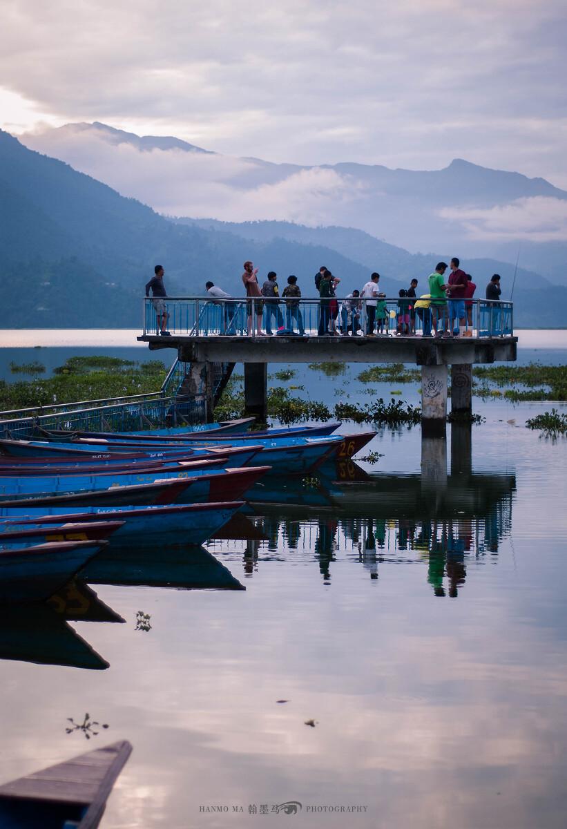 尼泊尔的博卡拉,气候宜人,滑翔伞圣地