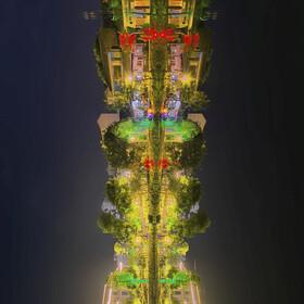 未来的空中之城