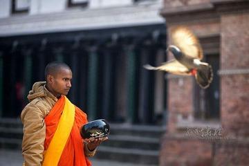 尼泊尔僧侣
