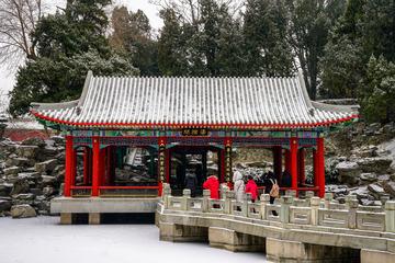 北海公园雪景(1)2019-2-14 e