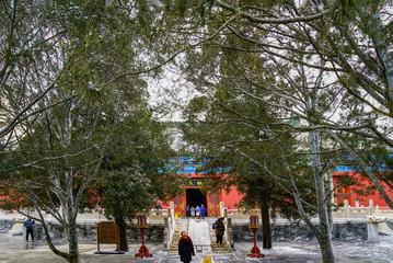 天坛公园雪景(2)2019-2-12 e