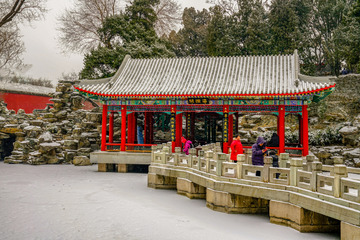 北海公园雪景(1)2019-2-14 c