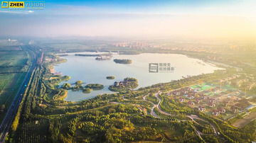 天津武清南湖 绿博园风景区