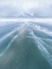 冬天的亚伯拉罕湖