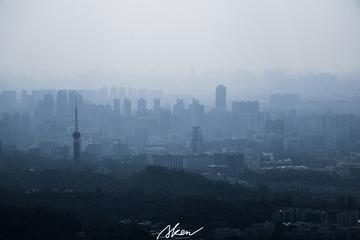 城市山水画