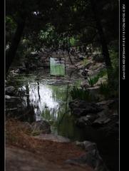 汇入未名湖的溪水