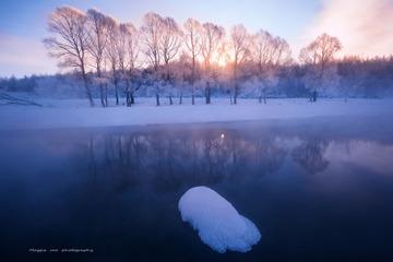 冬日骄阳---阿尔山