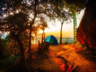 梅岭山狮子峰 看日出?